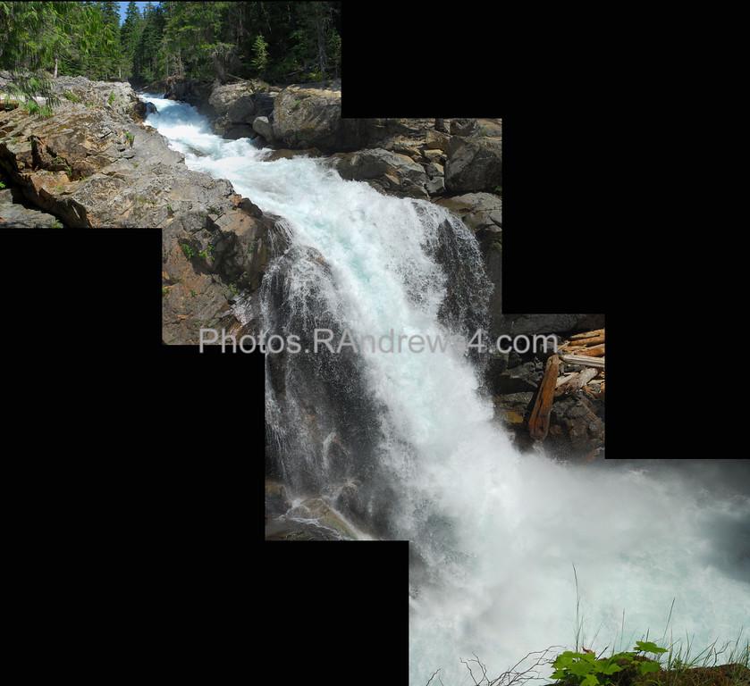 Silver Falls composite, Mt. Rainier National Park
