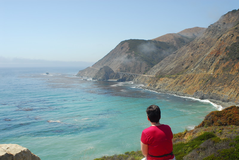 Along CA 1 coast highway