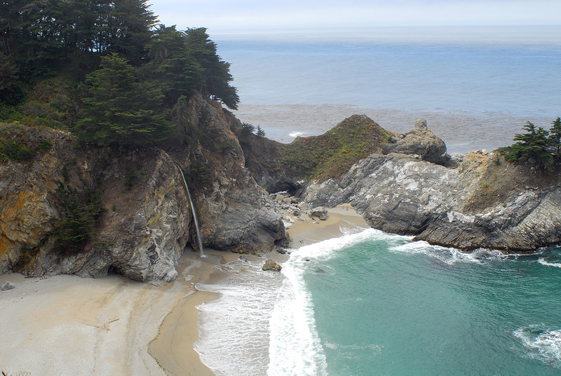 McWay Falls at Julia Pfeiffer Burns State Park, CA