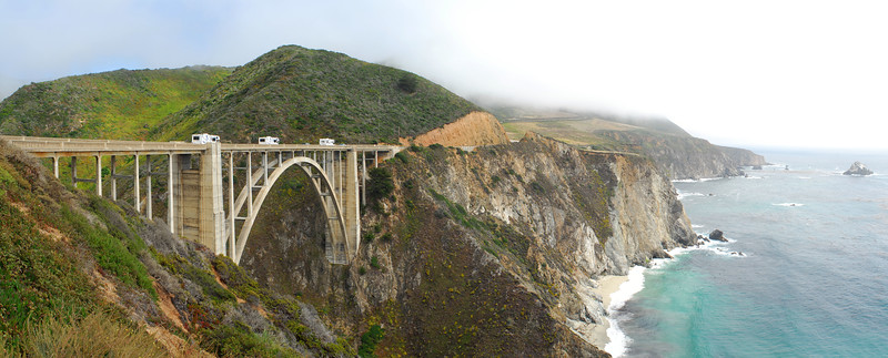 Bixby Creek Bridge on CA 1