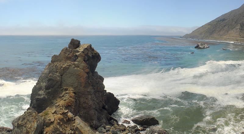 Along CA 1 coast highway