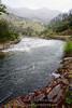 The Merced River southwest of Yosemite