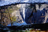 Reflection of Upper Yosemite Falls