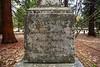 "Gravestone of James Lamon, ""pioneer settler of Yosemite"" (d. 1875)"