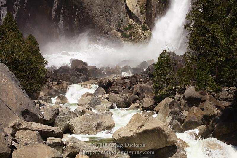 Base of Lower Yosemite Fall