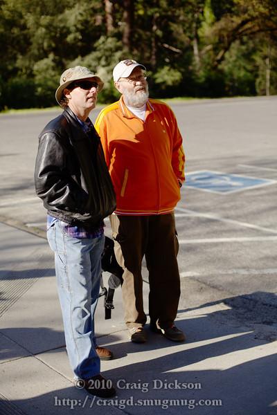 William Hartshorn and Gordon at the Cascades