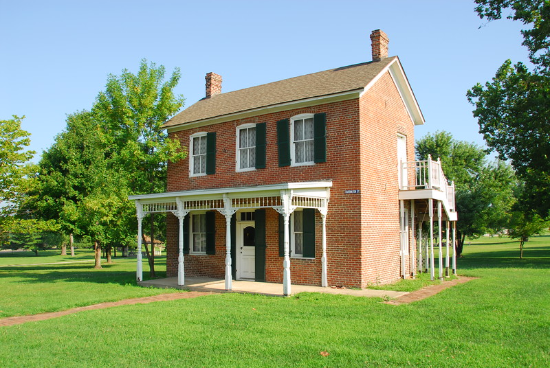 20100717 Birthplace of Paul Dresser on the banks of the Wabash in Terre Haute, IN