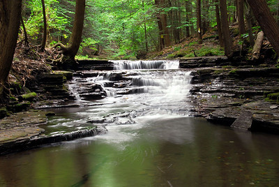 Waterfall on west branch