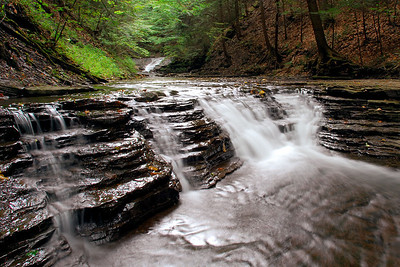 Waterfalls on west branch