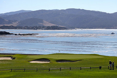 The 18th Green at Pebble Beach