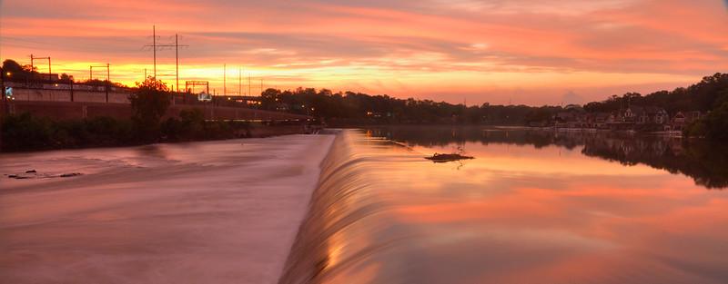 Fairmount Dam Philadelphia Museum