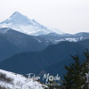 Mt. Hood from Hardy Ridge, Washington