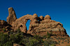Turret Arch.  Arches National Park, just outside Moab UT.