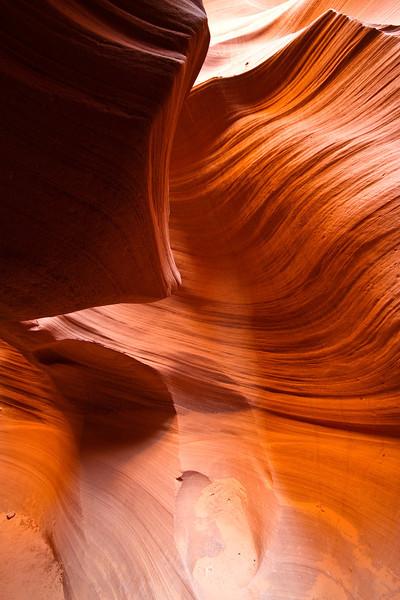 Lower Antelope Canyon, Page, AZ.
