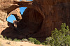 Double Arch.  Arches National Park, just outside Moab UT.