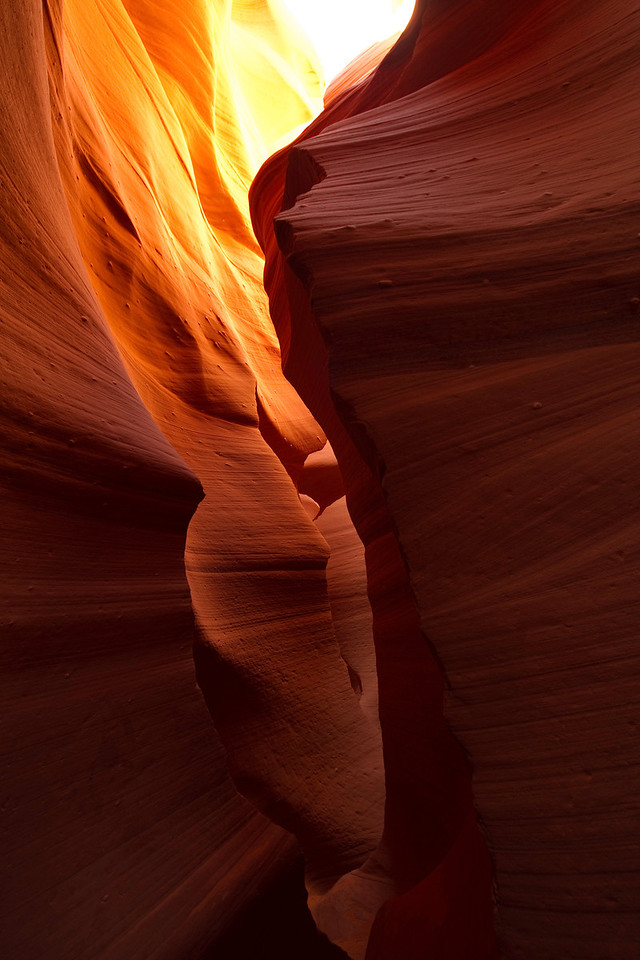 Lower Antelope Canyon, Page, AZ.