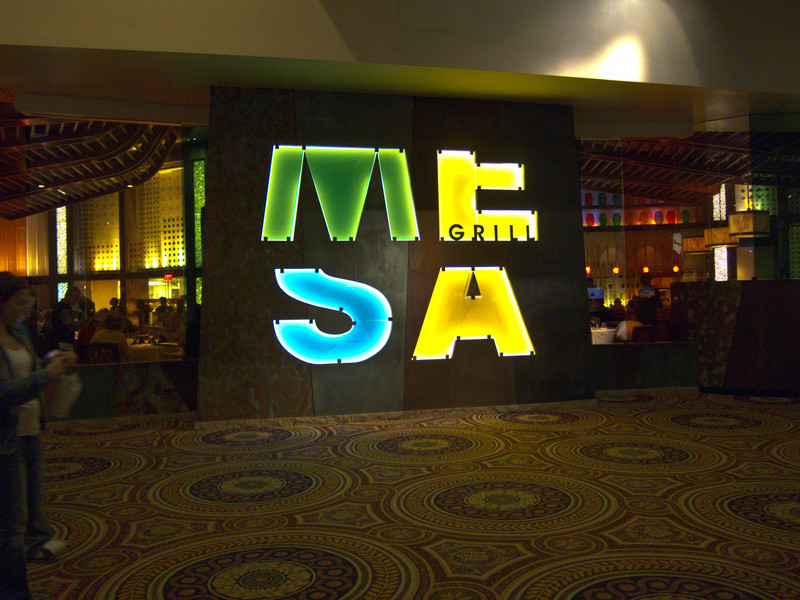 Bobby Flay's Mesa Grill in Las Vegas, yum!
