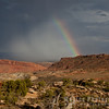Rainbow and Approaching Storm
