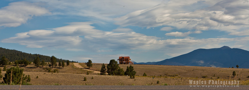 Lone Ranch house, Angel Fire, New Mexico