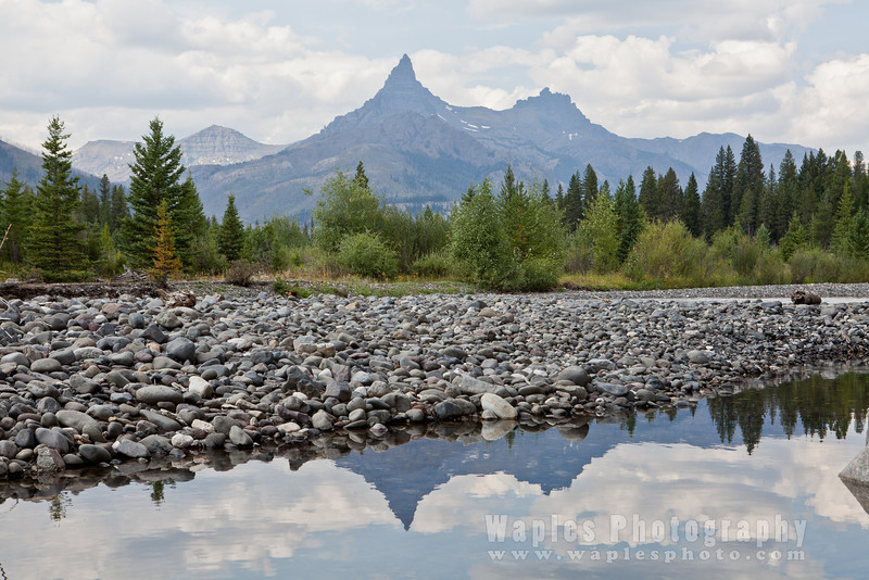 In Reflection, Pilot and Index Peak of the Absaroka Range