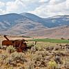 Derelict Combine, southern Idaho