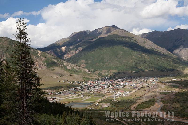 Silverton, Along US 550 in SW Colorado