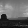 Thunderstorm over Monument Valley