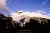 Half Dome with beard of cloud