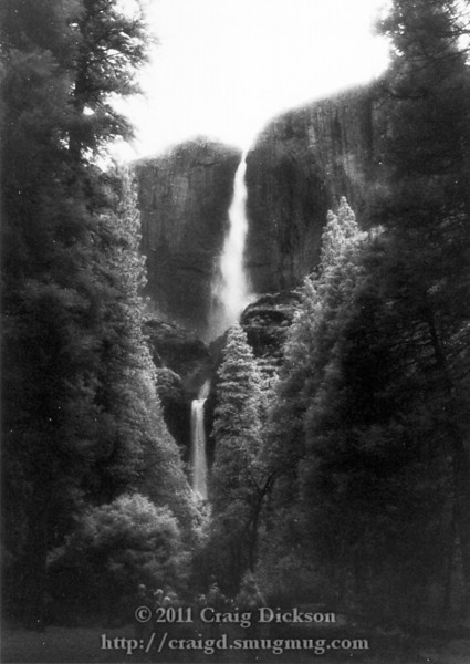 Yosemite Falls (infrared)