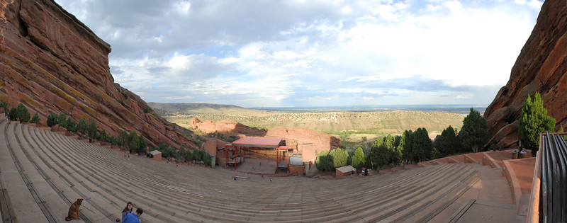 Amphitheater at Red Rocks Park