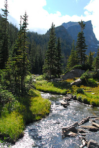 Outlet of Dream Lake in RMNP