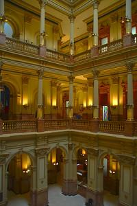 Inside Colorado State Capitol Building