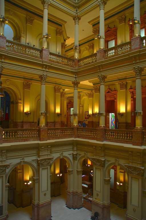 Inside Colorado State Capitol Building