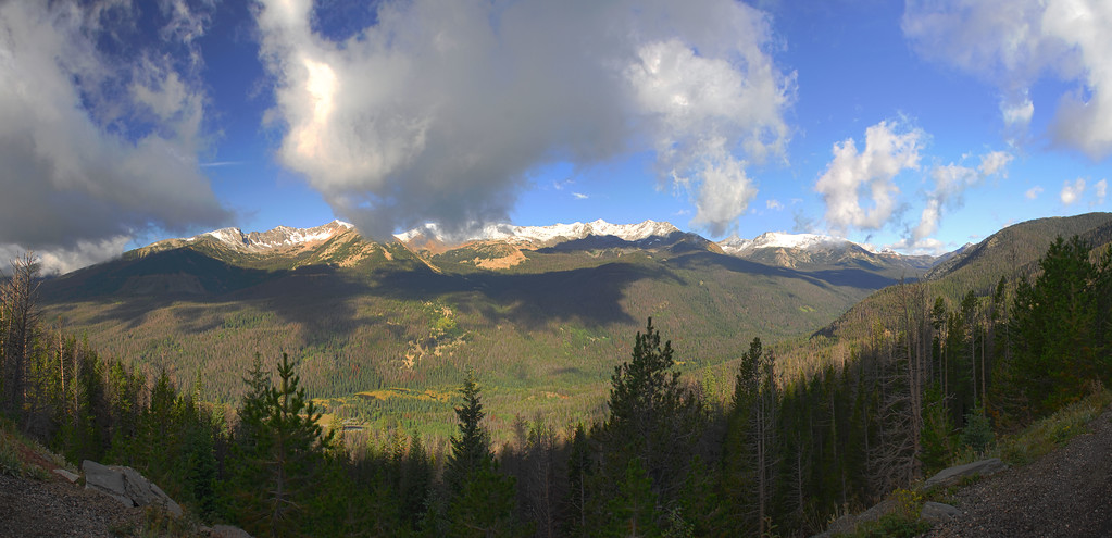 Kawuneeche Valley from Farview Curve in Rocky Mountain National Park
