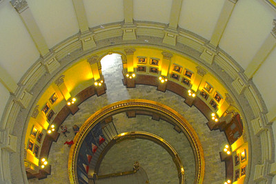Inside Colorado State Capitol Dome