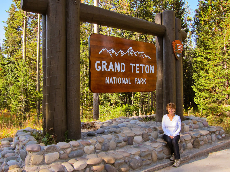Grand Teton National Park, south of Yellowstone