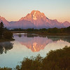 Sunrise at Oxbow Bend in the Grand Tetons