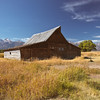 One of several Mormon Row Barns from the early 1900's settlement