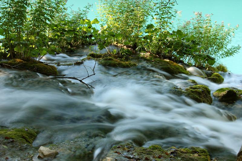 Stream, Plitvice
