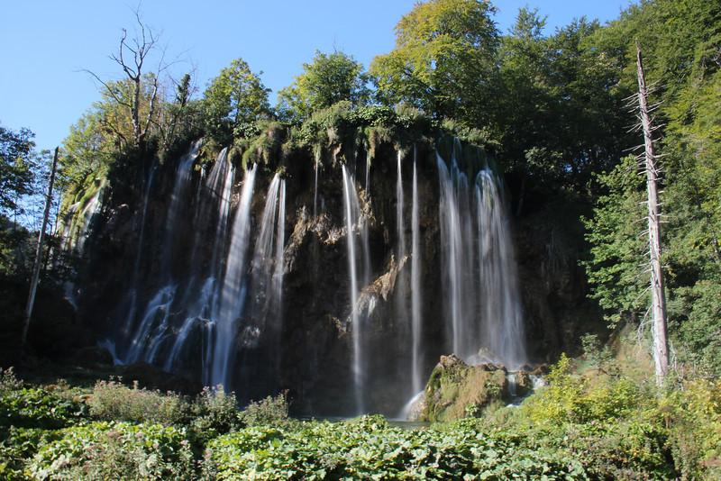Waterfall, Plitvice
