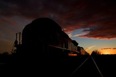 Last West Texas sunset of 2012.