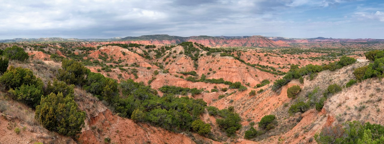 Caprock Canyons State Park, Texas, 2014. Just a quick hand-held panorama with a Fuji X-T1.