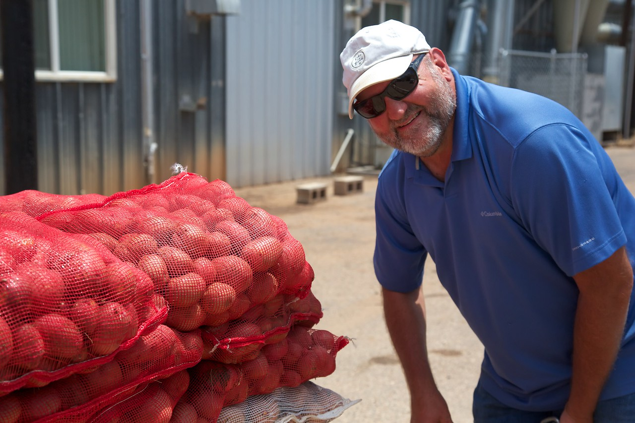 the payoff; research potatoes in the bag