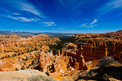 Hoodoos in Bryce Canyon National Park amphitheater