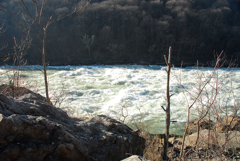 Niagara River above whirlpool