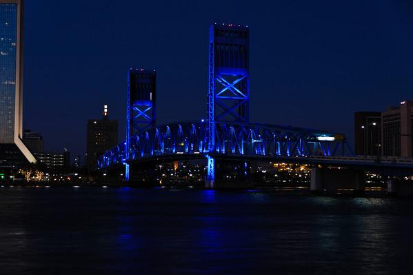 Jacksonville Blue Night