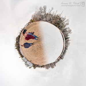 Explore the virtual tour here: http://www.aaronpriestphoto.com/pano/2013-04-13_Spring_or_Winter/