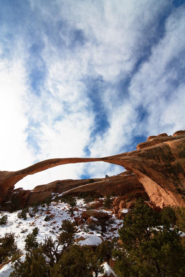 Landscape Arch. Arches National Park Moab, UT