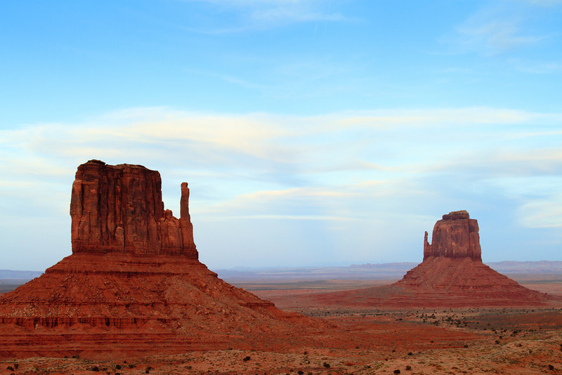The Mittens. Monument Valley on the UT / AZ State line.