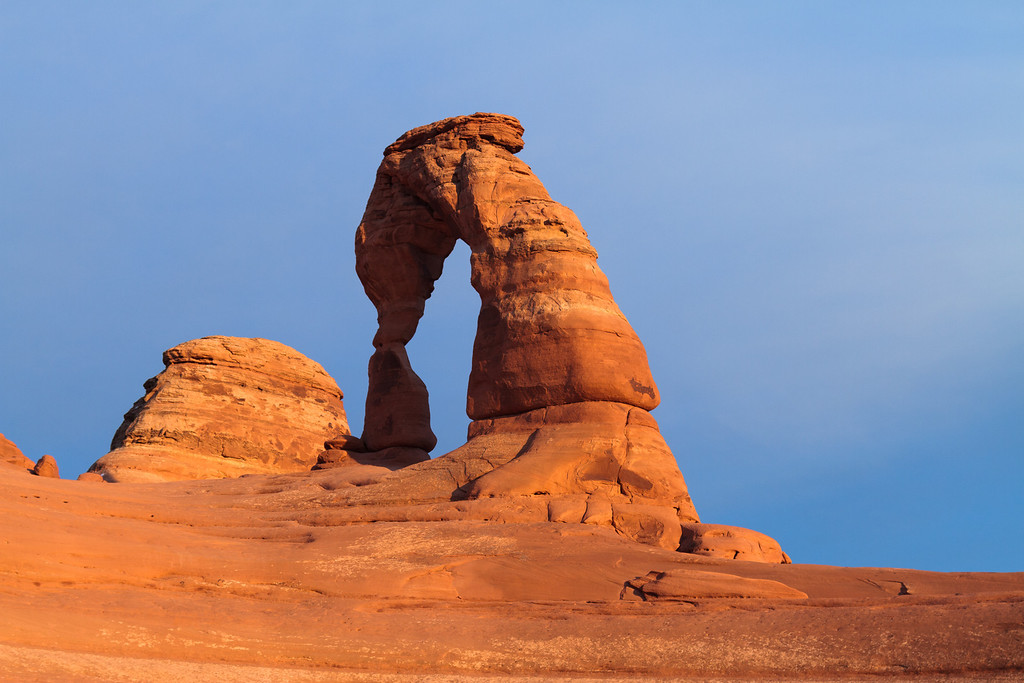 The Delicate Arch.  Arches National Park, Moab UT.